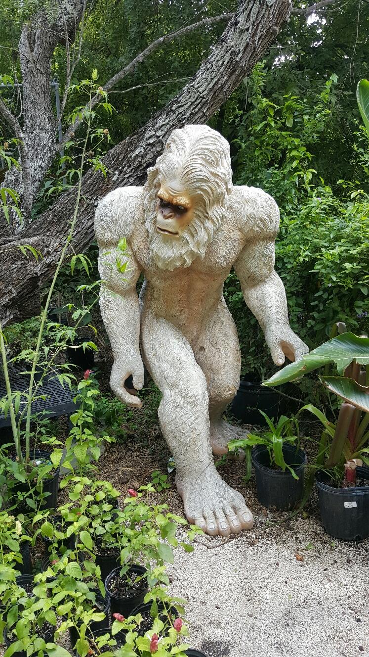Bigfoot lawn ornament - Bigfoot